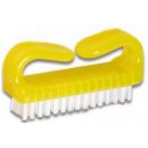 Nagelborstel kunststof geel