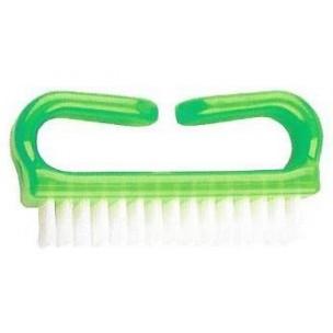 Nagelborstel kunststof groen